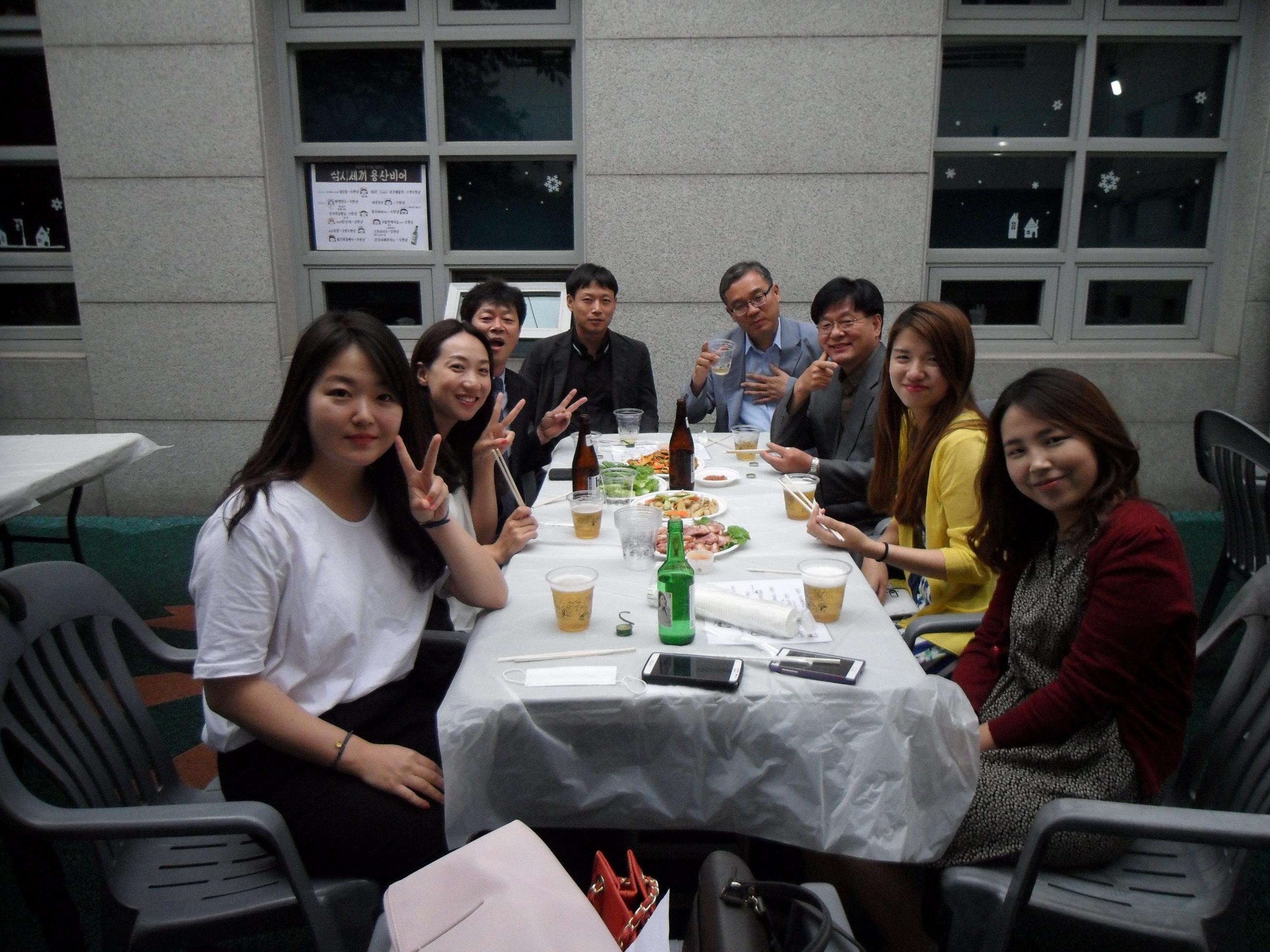 인천성미가엘복지관 직원들 방문